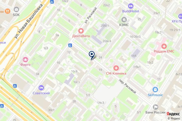 «Почтовое отделение №125124» на карте