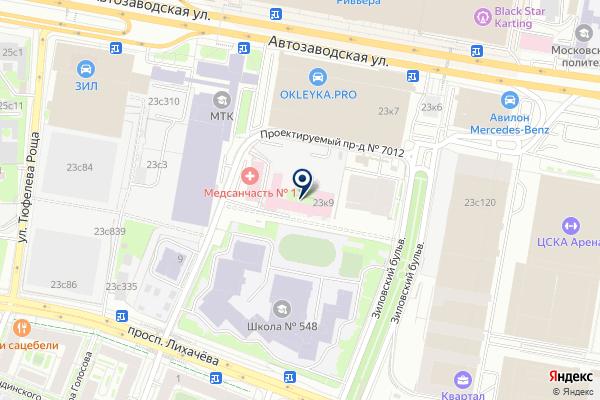 «НотЛайн» на карте