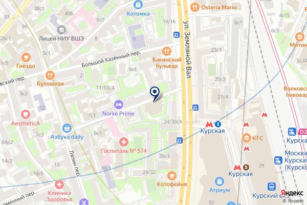 «Ла Карот» на карте