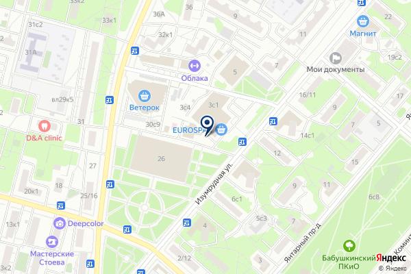 «Старая Карта» на карте