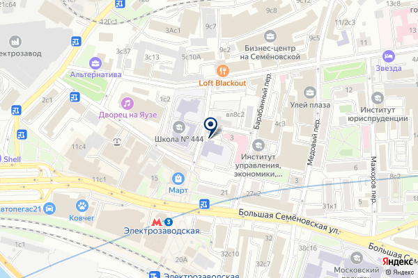 «Бублик» на карте