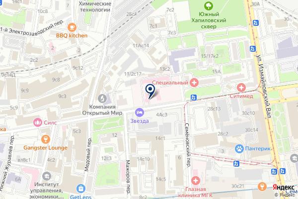 «Отделение неотложной медицинской помощи» на карте
