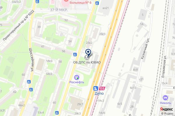 «Отдельный батальон ДПС ГИБДД» на карте