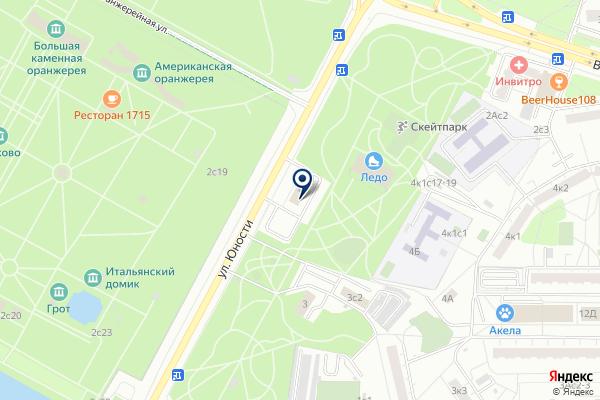 «Межрайонный отдел ГИБДД технического надзора и регистрации экзаменационной работы №3» на карте