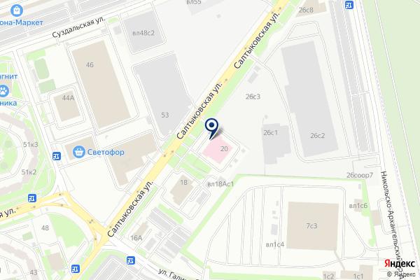 «Станция скорой и неотложной медицинской помощи им. А.С. Пучкова» на карте