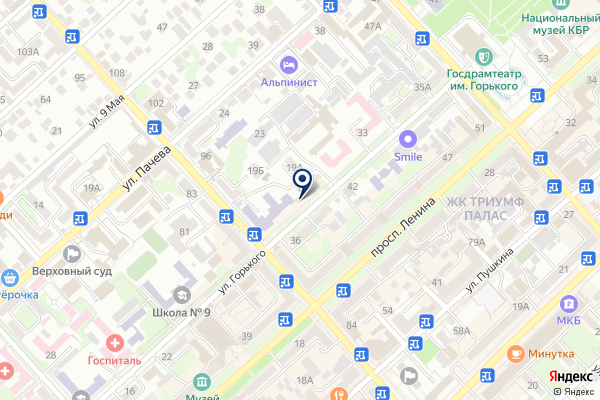 «Газпром межрегионгаз» на карте