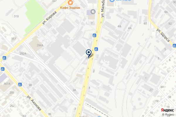 «Бош» на карте