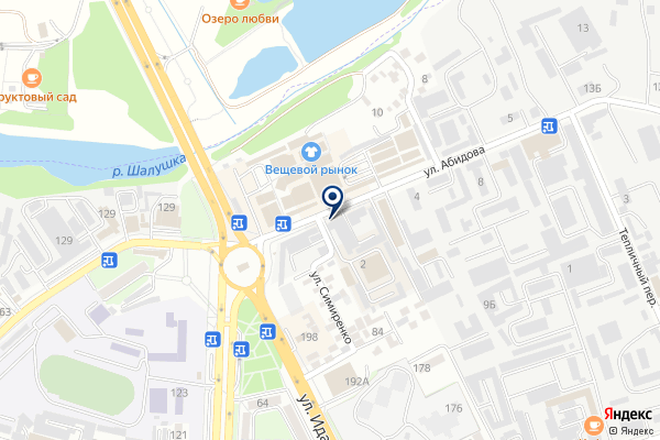 «Нальчик-Автоваз» на карте