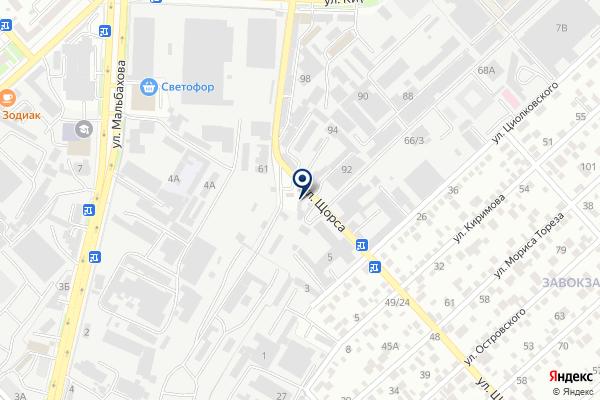«Impero» на карте