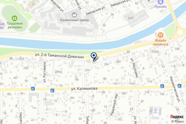 «Рублевка» на карте