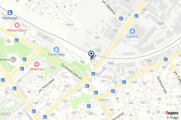 «Авто-Малярка» на карте