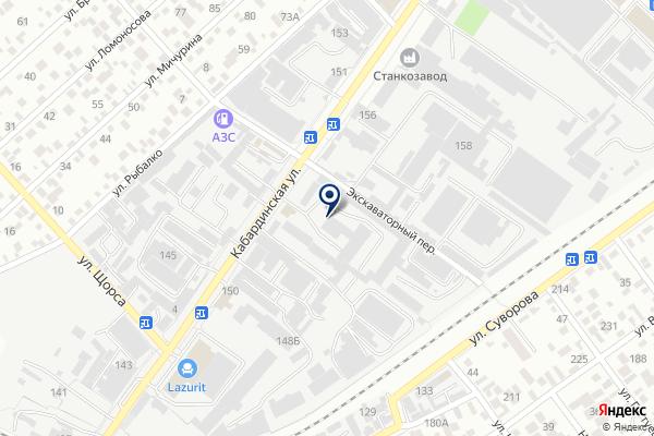 «Авто-Лидер» на карте