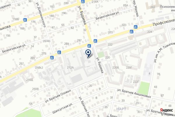 «Султан» на карте