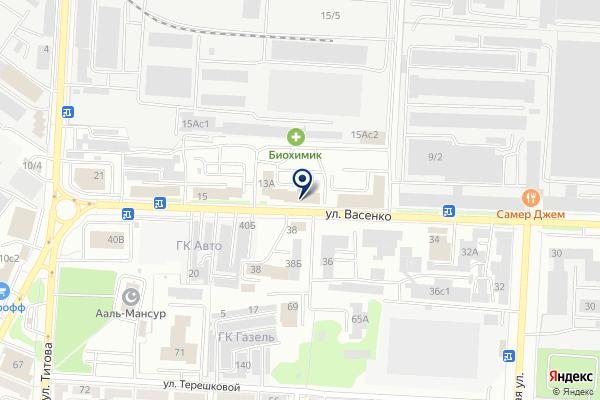«Максим» на карте
