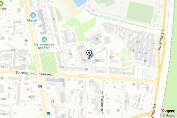 «Служба аварийных комиссаров» на карте