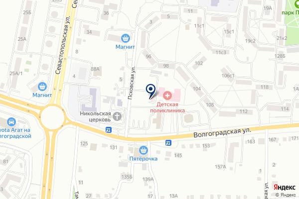 «Станция скорой медицинской помощи» на карте