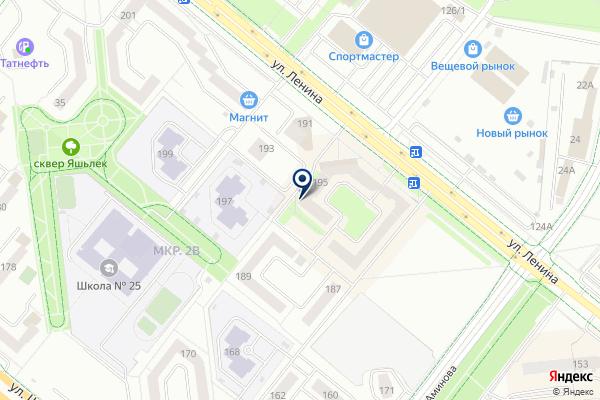 «Почта банк» на карте