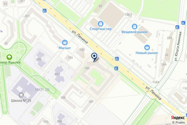 «Сеть платежных терминалов» на карте