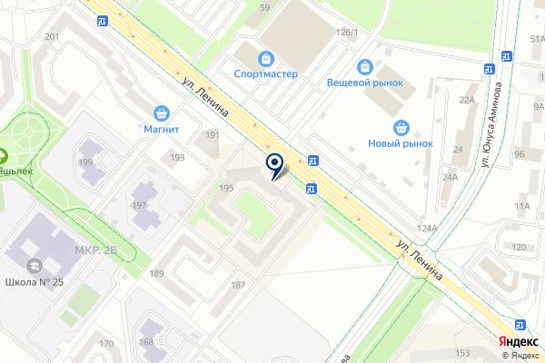 «Мирас» на карте