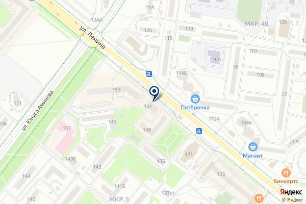 «Гардероб» на карте