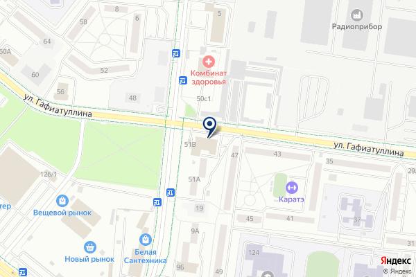 «Магазин детской одежды» на карте
