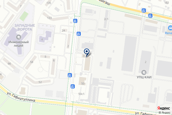 «Пожарная часть №65» на карте