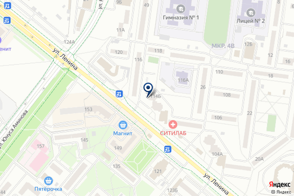 «АК Барс банк» на карте