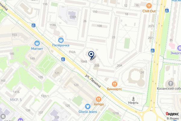 «Будильник» на карте