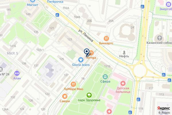 «Faberlic» на карте