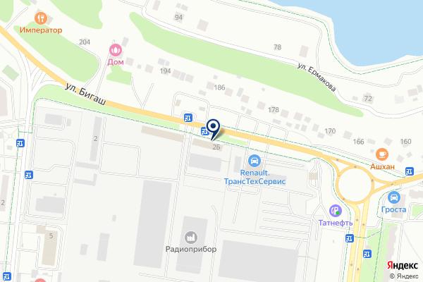«Модерн» на карте
