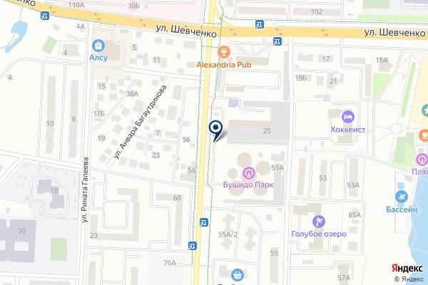 «Автостоянка» на карте