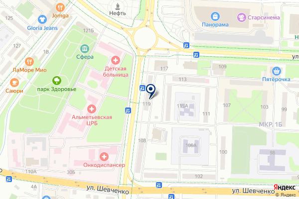 «Магазин фастфудной продукции» на карте