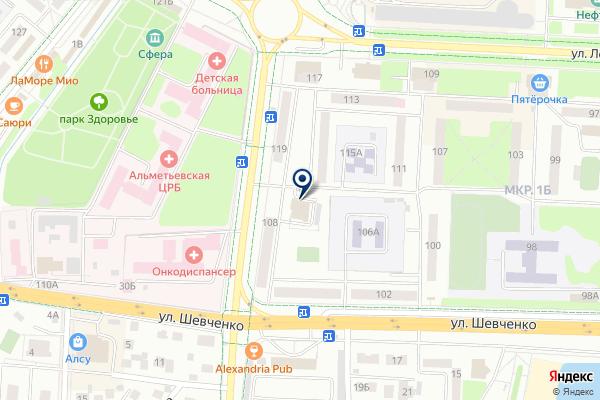 «Бархат» на карте