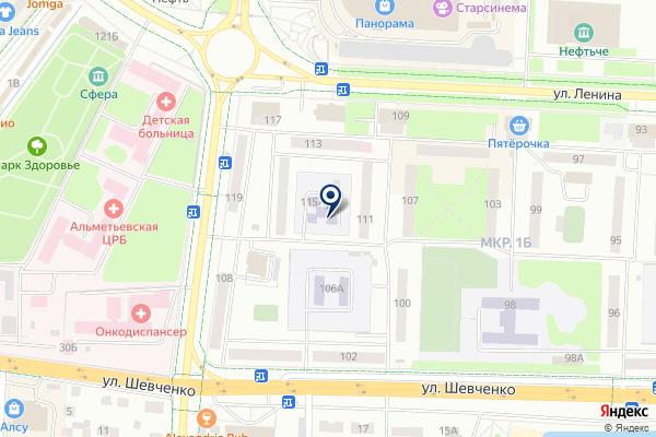 «Белоснежка» на карте