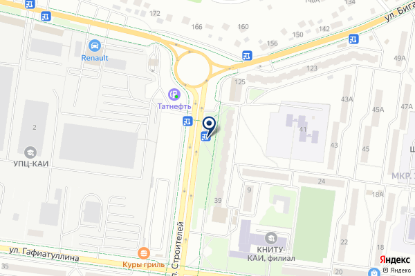 «Звениговский мясокомбинат» на карте