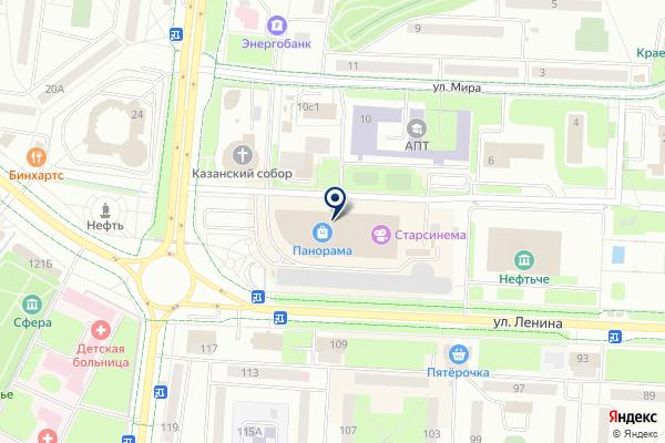 «Эконика» на карте