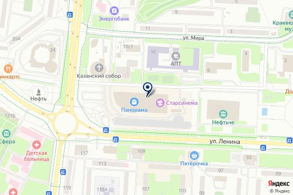«L`Егоза» на карте