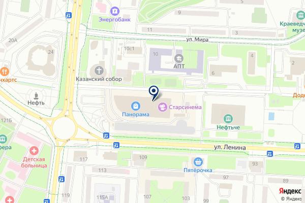 «Лапоток» на карте