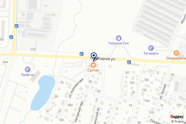 «Тазкира» на карте