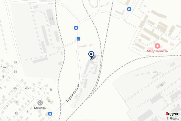 «ПРОМТРАНС-А» на карте