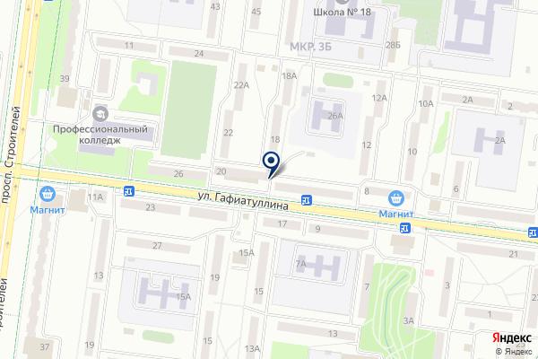 «ОСК ОкнOFF» на карте