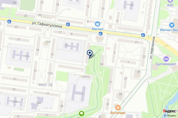 «Библиотека №3» на карте