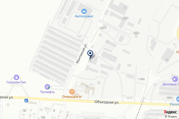 «Сельхозснаб Альмет» на карте