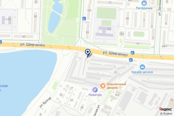 «АТС Технология» на карте