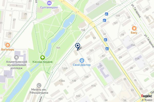 «Безопасность» на карте