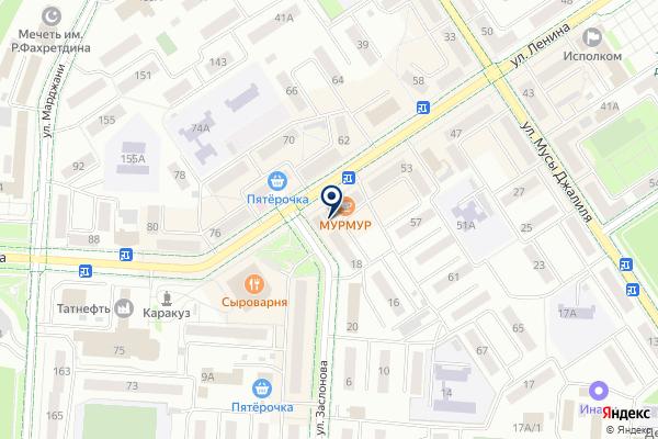 «Мясная точка» на карте