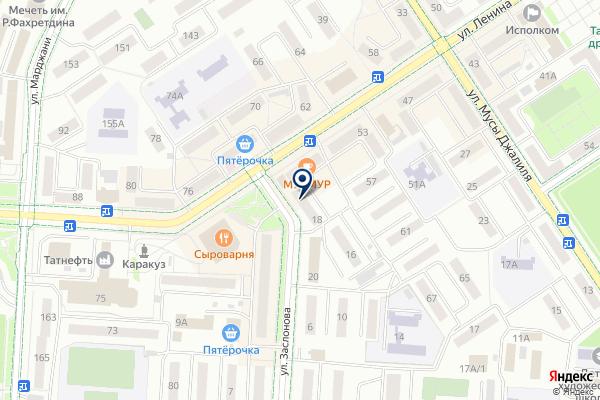 «Салям» на карте