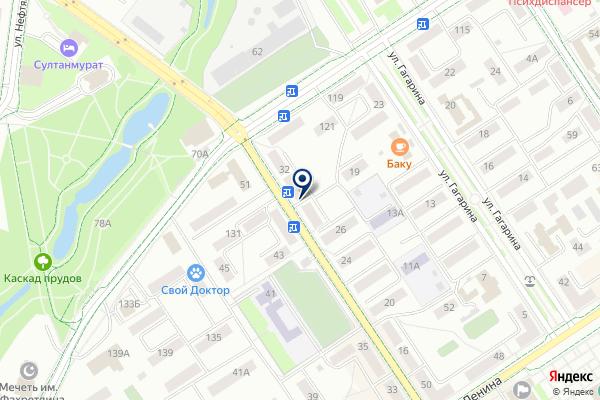 «Бережная аптека» на карте