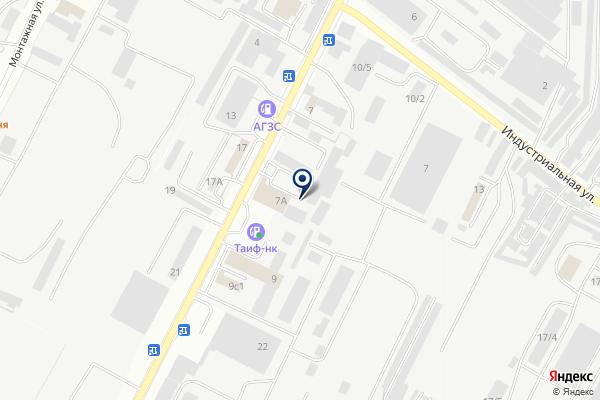 «SuperГаз» на карте