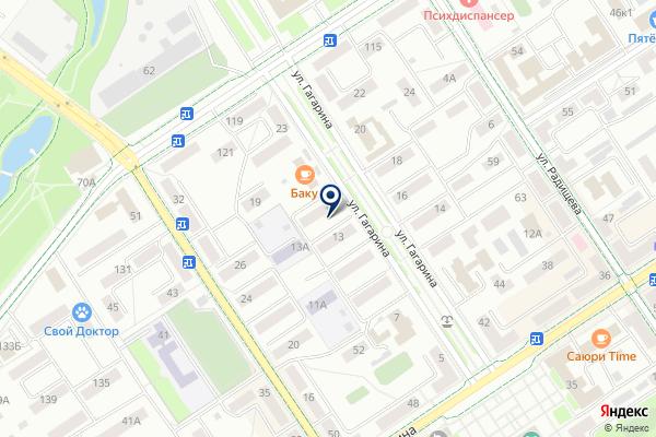 «ЧипАлина» на карте
